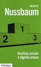 Copertina dell'audiolibro Giustizia sociale e dignità umana di NUSSBAUM, Martha C.