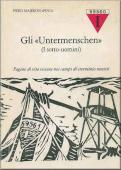 """Copertina dell'audiolibro Gli """"Untermenschen"""""""