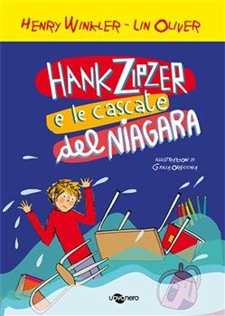 Copertina dell'audiolibro Hank Zipzer e le cascate del Niagara