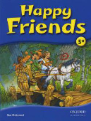 Copertina dell'audiolibro Happy friends 5 di MOHAMED, Sue