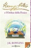 Copertina dell'audiolibro Harry Potter e l'ordine della Fenice  (Vol. 5)