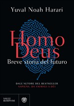 Copertina dell'audiolibro Homo deus: breve storia del futuro di HARARI, Yuval Noah