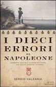 Copertina dell'audiolibro I dieci errori di Napoleone