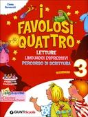 Copertina dell'audiolibro I favolosi quattro 3 di BERNACCHI, Emma