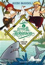 Copertina dell'audiolibro I gemelli Robinson: l'isola dei misteri di SGARDOLI, Guido
