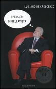 Copertina dell'audiolibro I pensieri di Bellavista di DE CRESCENZO, Luciano