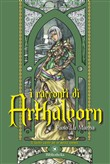 Copertina dell'audiolibro I racconti di Arthaleorn. Il tacito canto dei re senza corona