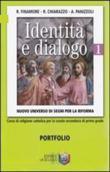 Copertina dell'audiolibro Identità e dialogo di FINAMORE, R. - CHIARAZZO, R. - PANIZZOLI, A.