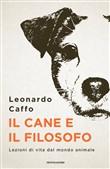 Copertina dell'audiolibro Il cane e il filosofo di CAFFO, Leonardo