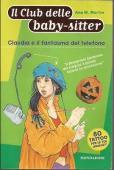 Copertina dell'audiolibro Il club delle baby-sitter – Claudia e il fantasma del telefono