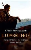 Copertina dell'audiolibro Il combattente di FRANCESCHI, Karim