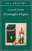 Copertina dell'audiolibro Il consiglio d'Egitto di SCIASCIA, Leonardo