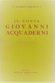 Copertina dell'audiolibro Il conte Giovanni Acquaderni di FABRINI, Natale