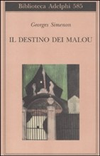 Copertina dell'audiolibro Il destino dei Malou di SIMENON, Georges