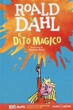 Copertina dell'audiolibro Il dito magico di DAHL, Roald