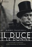 Copertina dell'audiolibro Il Duce e le donne di FRANZINELLI, Mimmo