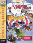 Copertina dell'audiolibro Il galeone dei gatti pirati