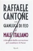 Copertina dell'audiolibro Il male italiano di CANTONE, Raffaele