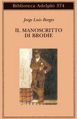 Copertina dell'audiolibro Il manoscritto di Brodie di BORGES, Jorge Luis