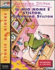 Copertina dell'audiolibro Il mio nome è Stilton, Geronimo Stilton
