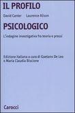 Copertina dell'audiolibro Il profilo psicologico di CANTER, David - ALISON, Laurence