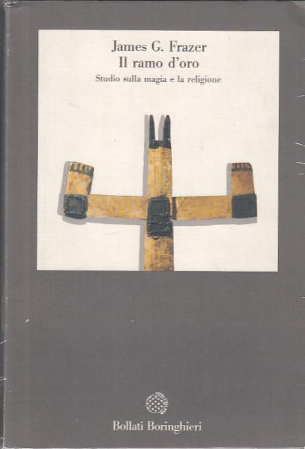 Copertina dell'audiolibro Il ramo d'oro: Studio sulla magia e la religione di FRAZER, James G.