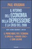 Copertina dell'audiolibro Il ritorno dell'economia della depressione e la crisi del 2008 di KRUGMAN, Paul