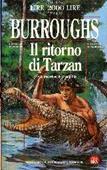 Copertina dell'audiolibro Il ritorno di Tarzan di BURROUGHS, Edgar Rice