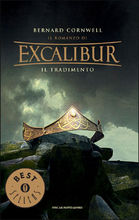 Copertina dell'audiolibro Il romanzo di Excalibur 4: Il tradimento