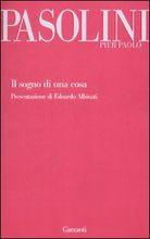 Copertina dell'audiolibro Il sogno di una cosa di PASOLINI, Pier Paolo