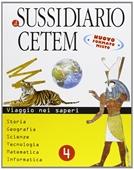 Copertina dell'audiolibro Il sussidiario Cetem 4 di BONFIGLI, A. - GUERRINI, M. - POTENA, L.