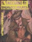 Copertina dell'audiolibro Il taccuino di Sherlock Holmes di DOYLE, Arthur Conan, sir