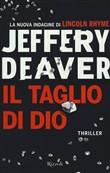 Copertina dell'audiolibro Il taglio di Dio di DEAVER, Jeffery