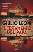 Copertina dell'audiolibro Il testamento del Papa di LEONI, Giulio