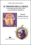 Copertina dell'audiolibro Il trionfo della croce di SAVONAROLA, Girolamo