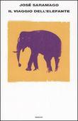 Copertina dell'audiolibro Il viaggio dell'elefante di SARAMAGO, José