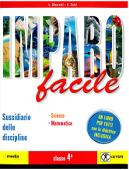 Copertina dell'audiolibro Imparo facile 4 – Scienze di BINARETTI, L. - CALZI, A.