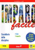 Copertina dell'audiolibro Imparo facile 4 – storia e geografia di BIANCOFIORE, E. - CALZI, A.