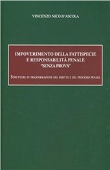 """Copertina dell'audiolibro Impoverimento della fattispecie e responsabilità penale """"senza prova"""""""
