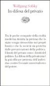 Copertina dell'audiolibro In difesa del privato di SOFSKY, Wolfgang