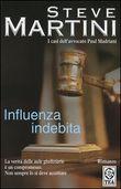 Copertina dell'audiolibro Influenza indebita di MARTINI, Steve