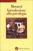 Copertina dell'audiolibro Introduzione alla psicologia di MECACCI, Luciano