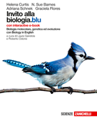 Copertina dell'audiolibro Invito alla biologia. Blu di CURTIS, Helena - BARNES, Sue N.