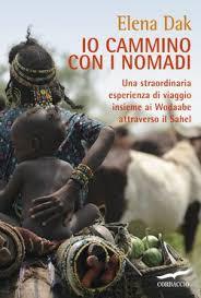 Copertina dell'audiolibro Io cammino con i nomadi di DAK, Elena