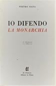 Copertina dell'audiolibro Io difendo la Monarchia di SILVA, Pietro