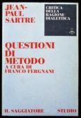 Copertina dell'audiolibro Jean-Paul Sartre – Questioni di metodo di FERGNANI, Franco (a cura di)