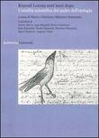 Copertina dell'audiolibro Konrad Lorenz cent'anni dopo: l'eredità scientifica del padre dell'etologia di CELENTANO, Marco e STANZIONE, Massimo (a cura di)