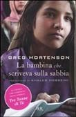 Copertina dell'audiolibro La bambina che scriveva sulla sabbia di MORTENSON, Greg