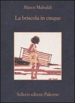 Copertina dell'audiolibro La briscola in cinque di MALVALDI, Marco