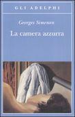 Copertina dell'audiolibro La camera azzurra di SIMENON, Georges